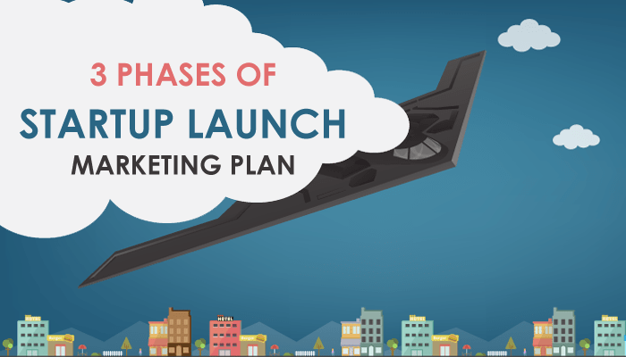Top 3 Phases of startup launch marketing plan