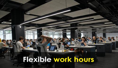 Flexible work hours