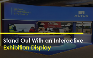 Stand Out With an Interactive Exhibition Display