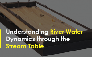 Understanding River Water Dynamics through the Stream Table